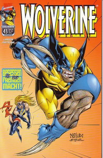 Wolverine 43 - Besessen von einer fremden Macht!