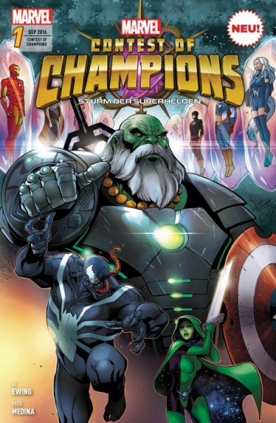 Contest of Champions 1: Sturm der Superhelden