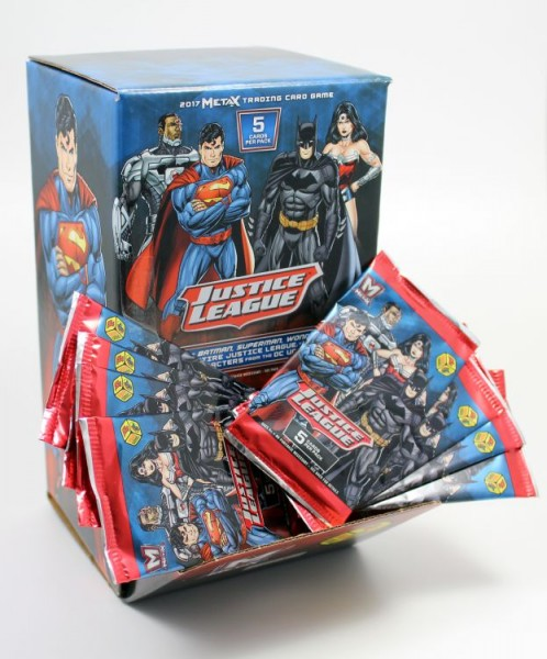 Justice League Metax Trading Card Game - Box