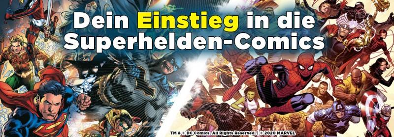 Dein Einstieg in die Superhelden-Comics