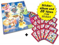 Paw Patrol - Mighty Pups Sticker - Sammelbundle