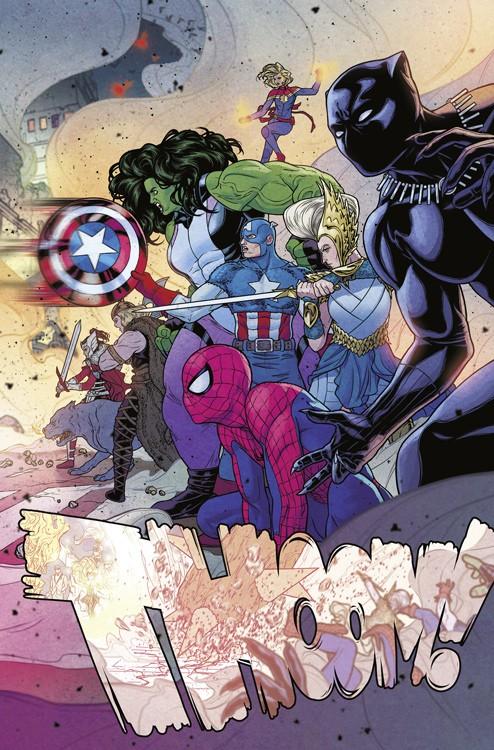 War of the Realms Blick in den Comic Vorschauseite 4