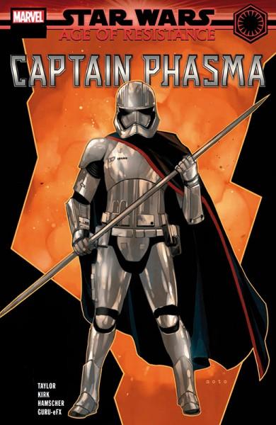 Star Wars 61 Age of Resistance - Captain Phasma & Finn - Kiosk-Ausgabe Cover