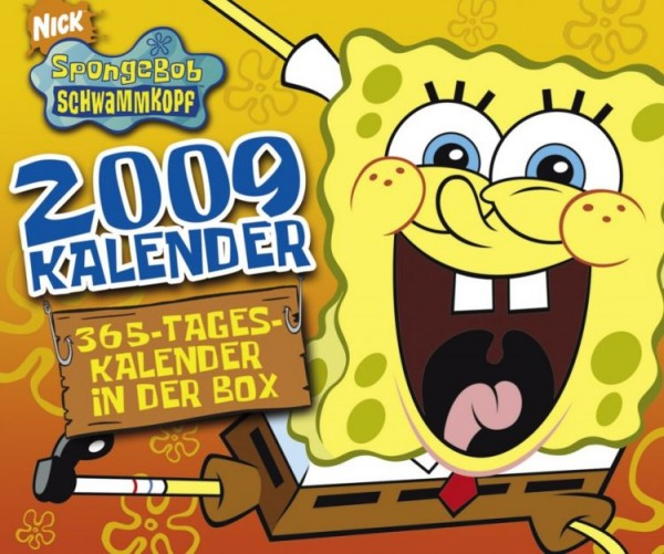 Spongebob 365-Tageskalender in der Box (2009)