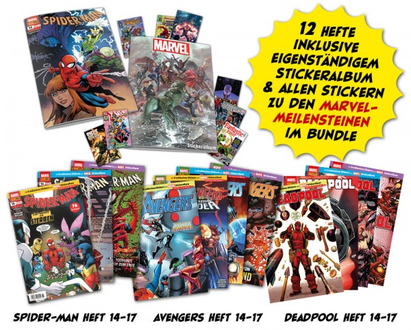 Marvel-Meilensteine-Heftserien-Bundle