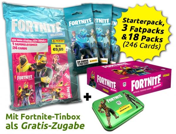 Fortnite Reloaded Trading Cards - Save-the-World-Bundle mit Gratis-Prämie