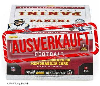 NFL 2016 Panini Trading Cards - Blaster Box