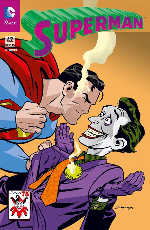 Superman 42: Joker Variant