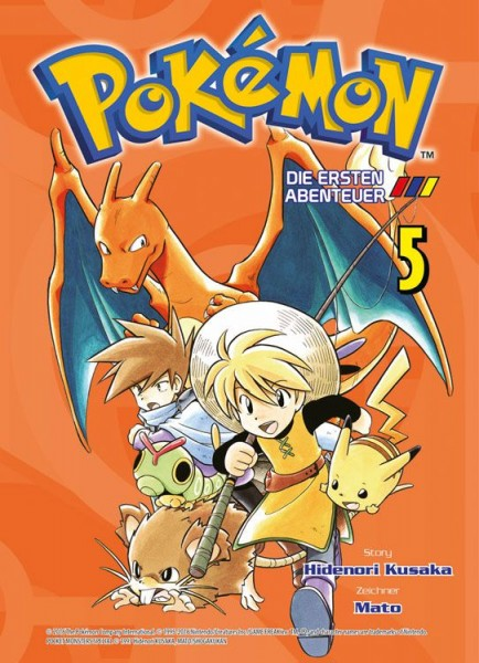 Pokémon - Die ersten Abenteuer 5