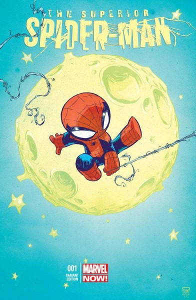 Spider-Man 4 Comic Action 2013 Marvel-Baby-Variant