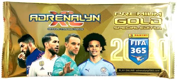 Panini FIFA 365 Adrenalyn XL 2020 Kollektion – Premium Gold-Tüte
