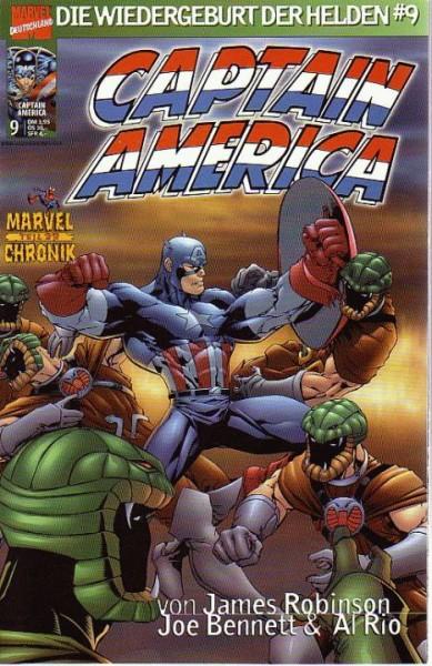 Captain America: Die Wiedergeburt der Helden 9