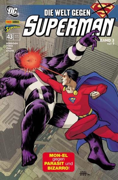 Superman Sonderband 43: Die Welt gegen Superman 3