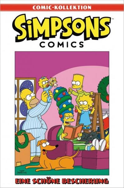 Simpsons Comic-Kollektion 20: Eine schöne Bescherung Cover