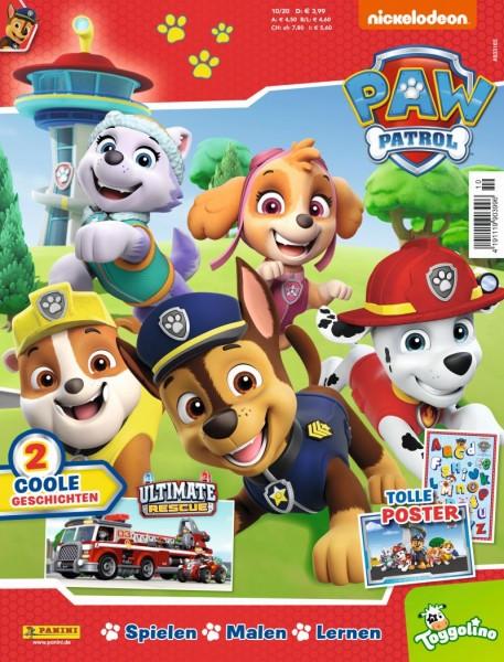 Paw Patrol Magazin 10/20 Cover