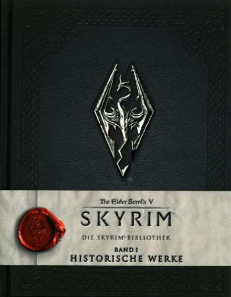 Skyrim: Die Skyrimbibliothek 1 - Historische Werke Cover