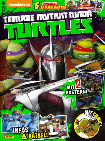 Teenage Mutant Ninja Turtles - Magazin 20