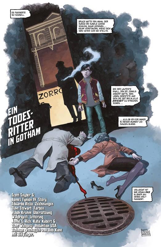 Der Batman, der lacht Blick in den Comic Vorschauseite 2