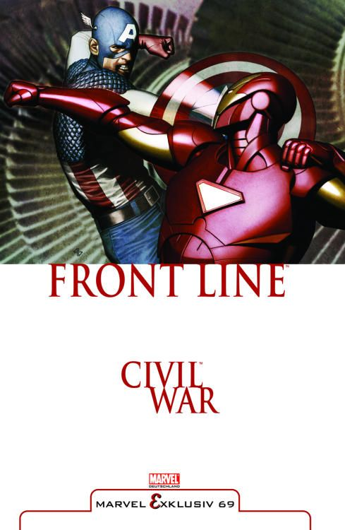 Marvel Exklusiv 69: Civil War - Front...