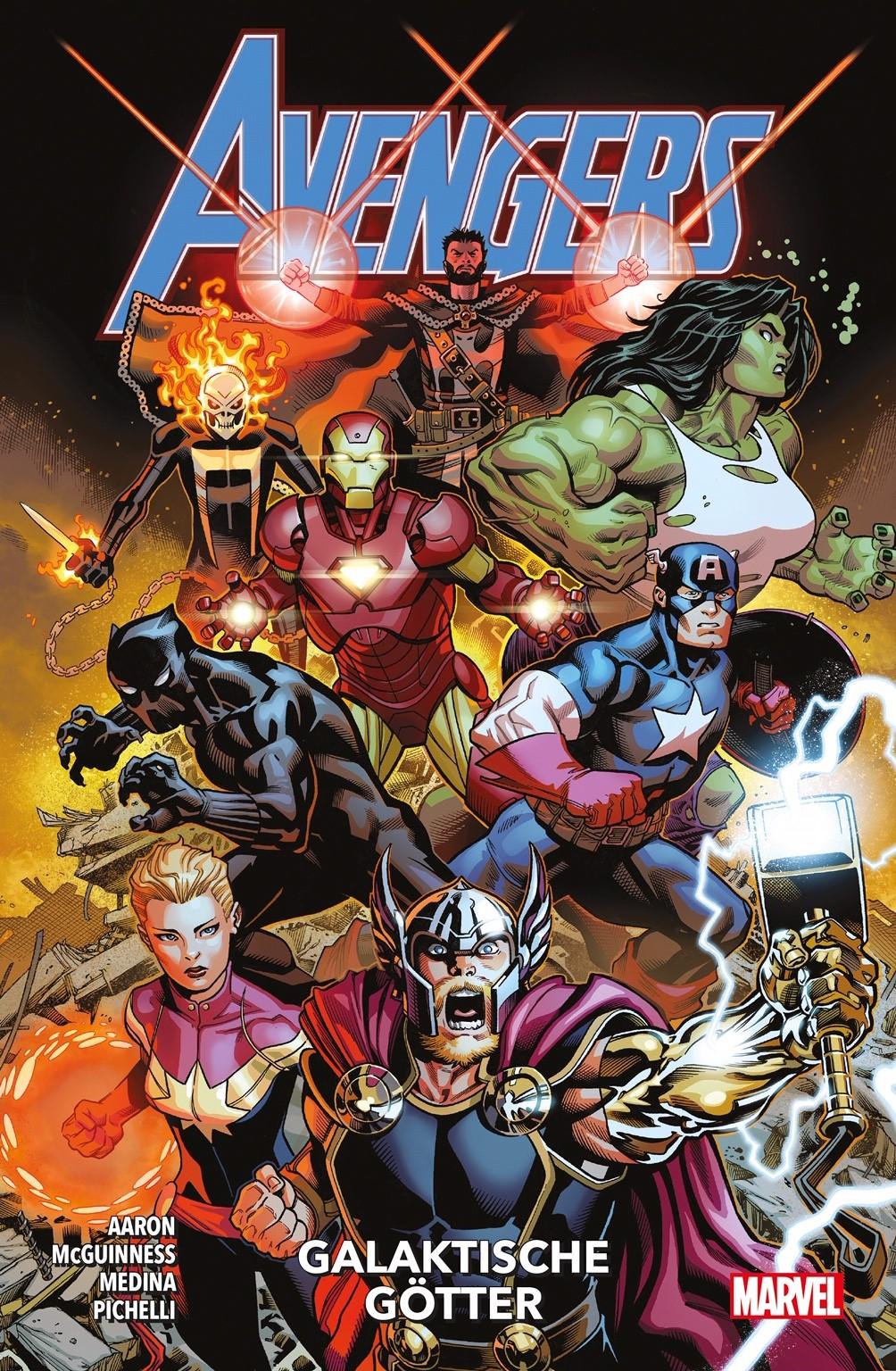 Avengers Paperback 1: Galaktische Götter