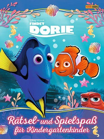 Disney: Pixar - Findet Dorie - Rätsel- und Spielspaß für Kindergartenkinder