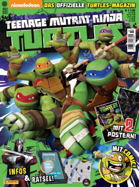 Teenage Mutant Ninja Turtles - Magazin 32
