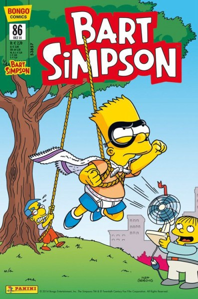 Bart Simpson Comics 86