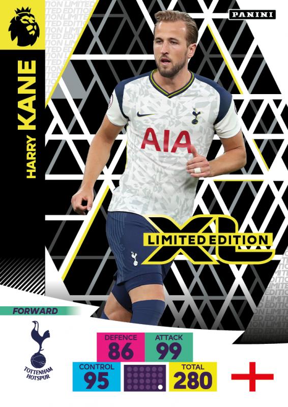 Panini Premier League Adrenalyn XL 2020/21 - Limited Edition Card - Harry Kane