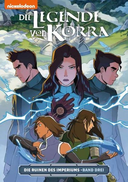 Die Legende von Korra 6: Die Ruinen des Imperiums 3 Cover