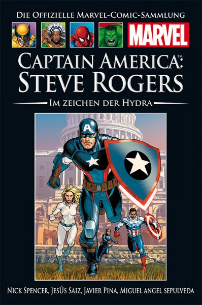 Hachette Marvel Collection 195 Captain America Steve Rogers - Im Zeichen der Hydra Cover