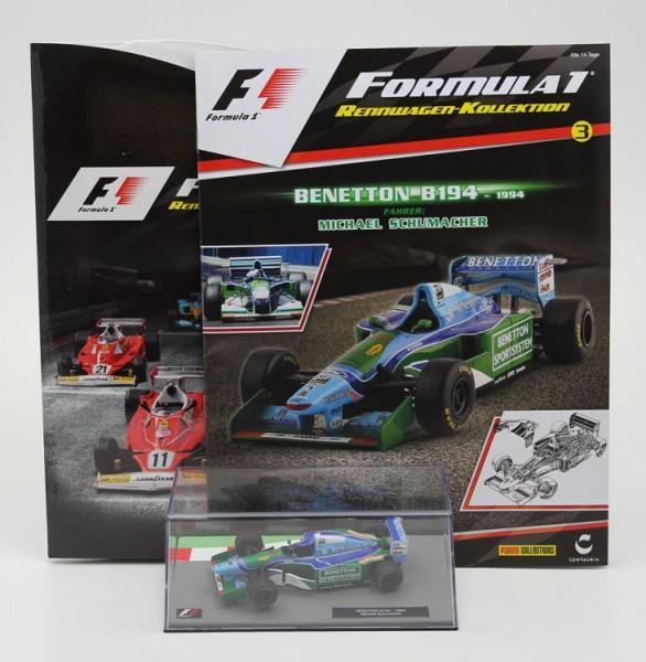 Formula 1 Rennwagen-Kollektion 3: Michael Schumacher (Benetton B 194)