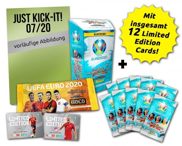UEFA EURO 2020 Adrenalyn XL - Magazin-Bundles - Just-Kick-It Mega-EM-Bundle