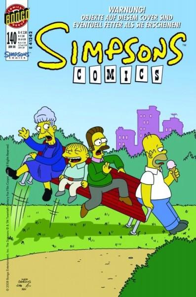 Simpsons Comics 140