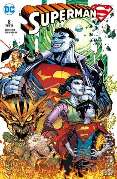 Superman Sonderband 8: Bizarro-Welten Cover