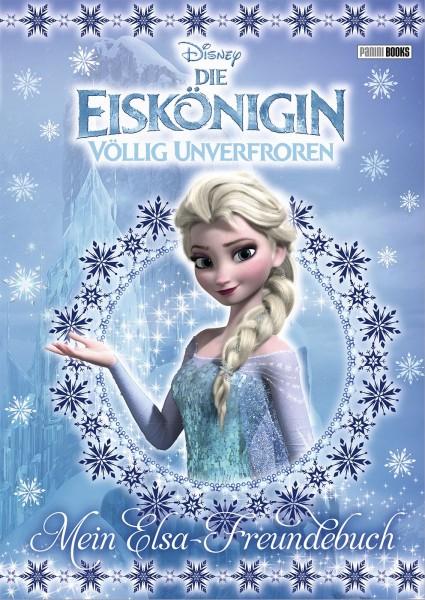Disney: Die Eiskönigin - Elsa Freundebuch
