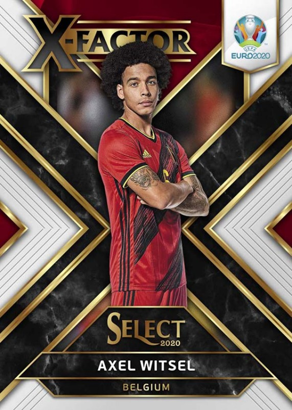 UEFA EURO 2020 Select Trading Cards - Axel Witsel - X-Factor