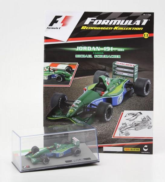 Formula 1 Rennwagen-Kollektion 13: Michael Schumacher (Jordan 191)