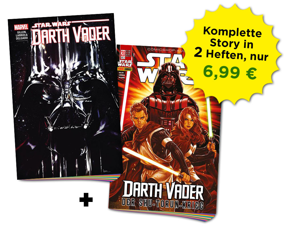 Star Wars: Darth Vader Schnupperbundle 1