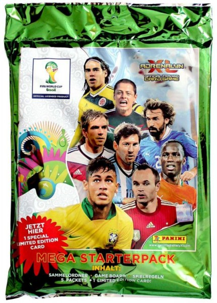 FIFA World Cup Brasilien 2014 Adrenalyn XL TCG Starter-Pack