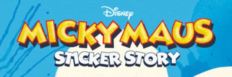 Disney Micky Maus Sticker Story