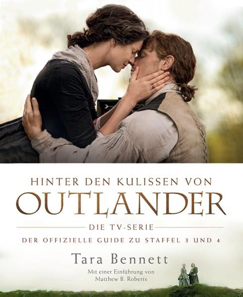 Hinter den Kulissen von Outlander: Die TV-Serie – Der offizielle Guide zu Staffel 3 und 4 - Cover