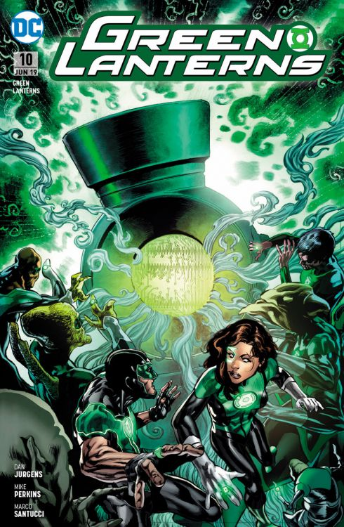 Green Lanterns (Rebirth) 10 - Dunkle...