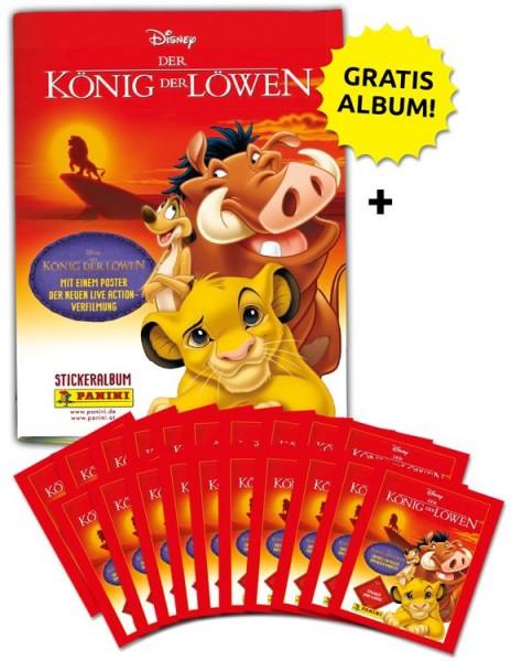 Disney der König der Löwen Stickerkollektion – Sammelbundle