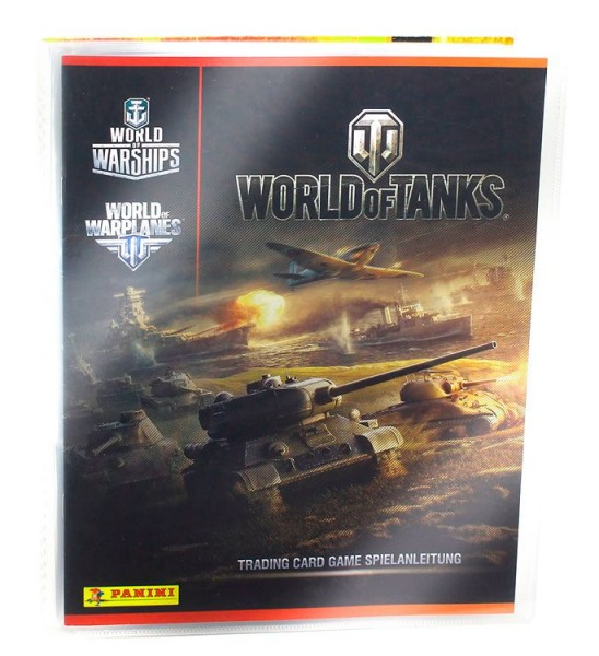 World of Tanks Trading Cards - Sammelordner