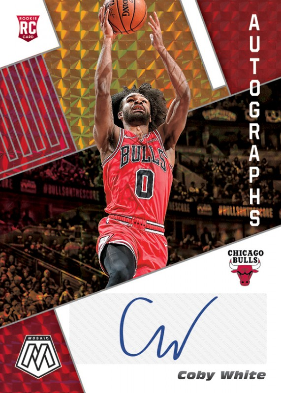 NBA Basketball Mosaic Trading Cards 2019/20 - Coby White