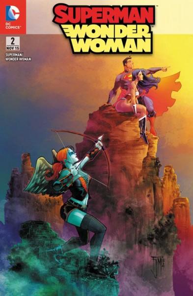 Superman/Wonder Woman 2 Variant - Comic Action 2015