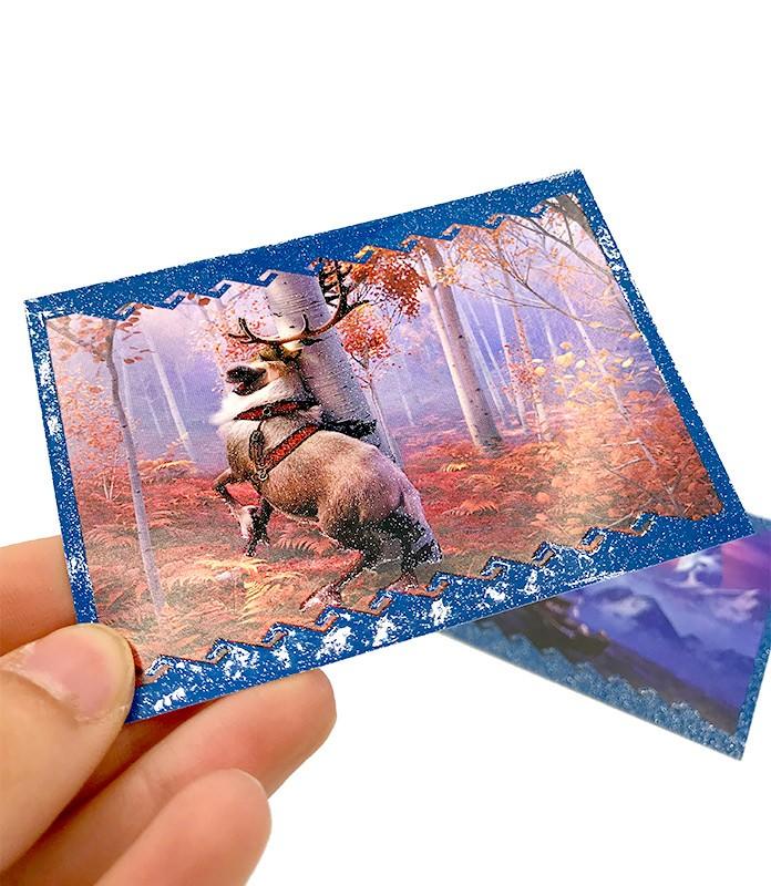 Die Eiskönigin 2 - Crystal Edition - Sticker und Cards - Glitzer und Holografie Sticker