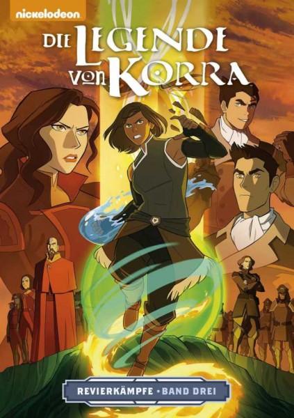 Die Legende von Korra 3: Revierkämpfe 3 Cover