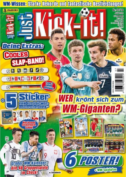 Just Kick-It! Magazin 07/18