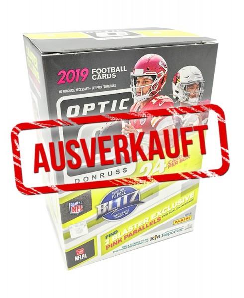 NFL 2019 DONRUSS Optic Football Trading Cards - Blasterbox